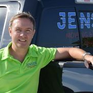 Peter Ammann, owner of jensen moving an storage