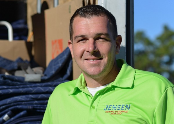 E.J. Koon - general manager of jensen moving an storage